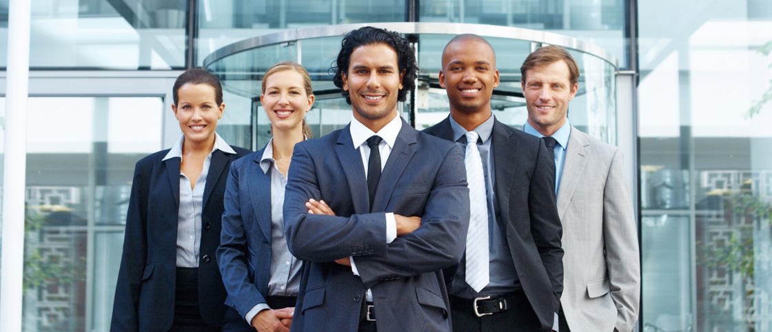 Diverse Group of Business Professionals