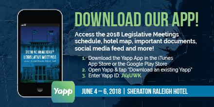 2018 Legislative Meetings Download Our App