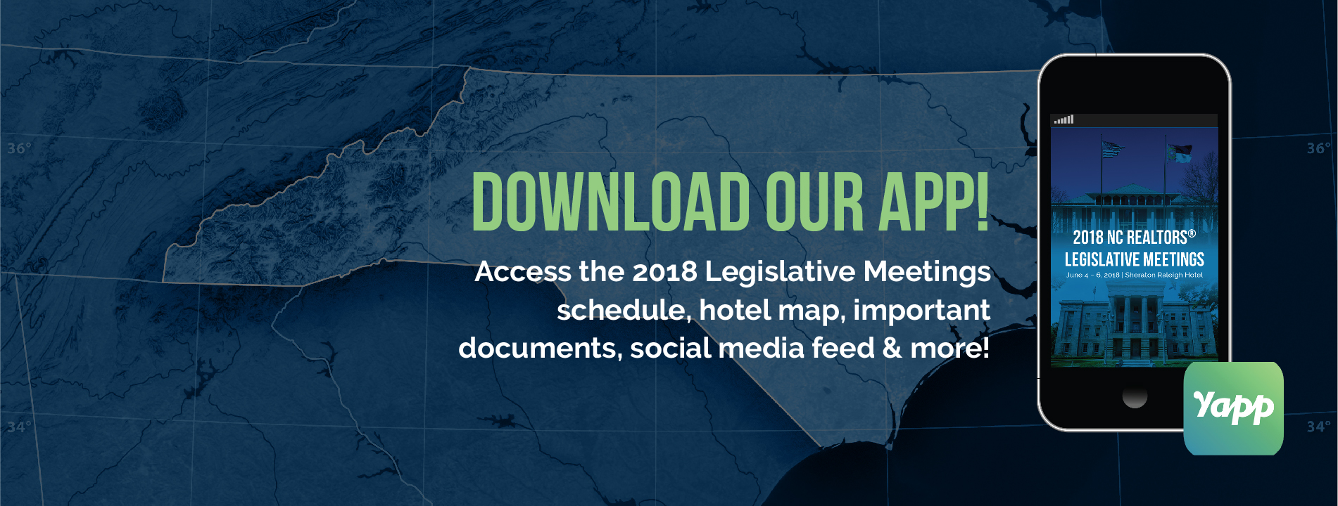 2018 Legislative Meeting Download Our App