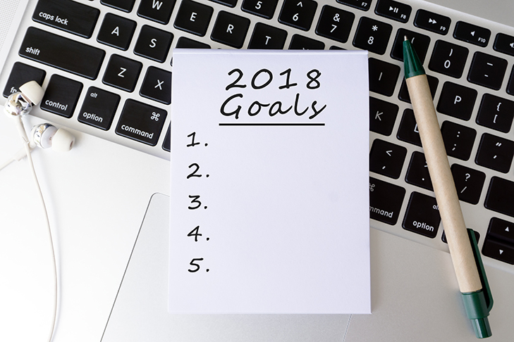 2018 goals list
