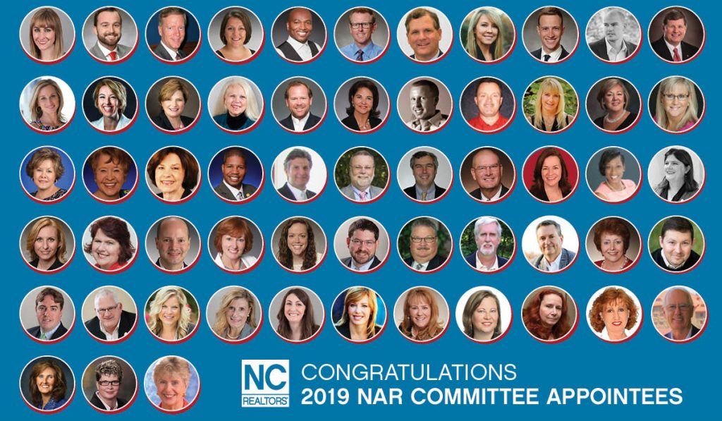 2019 NAR Committee Graphic