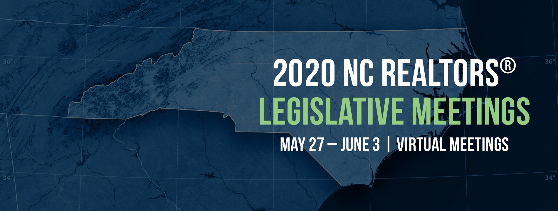 2020 Legislative Meetings Virtual Website Slider
