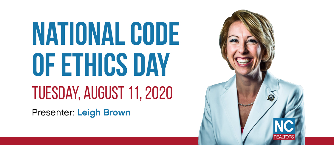 2020 National Code of Ethics Day Resources Header
