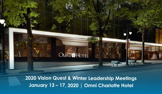 2020 Vision Quest/Winter Leadership Meetings Feature Image