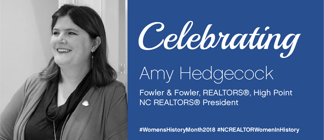 image for National Women's History Month Spotlight: Amy Hedgecock