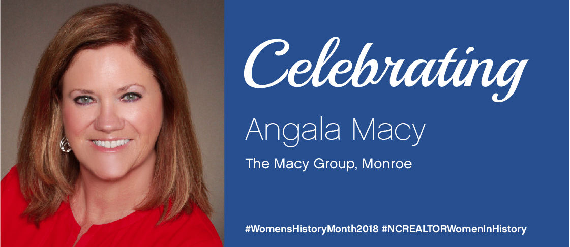 Celebrating Angala Macy for National Women's History Month