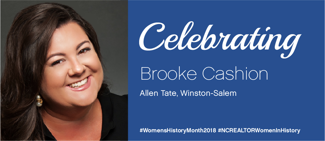 Celebrating Brooke Cashion for National Women's History Month