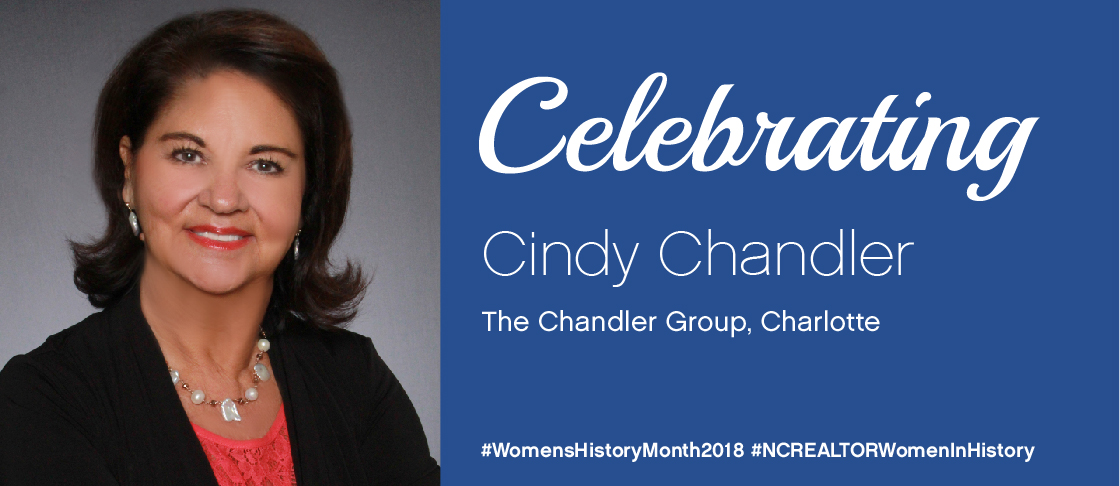 Celebrating Cindy Chandler for National Women's History Month