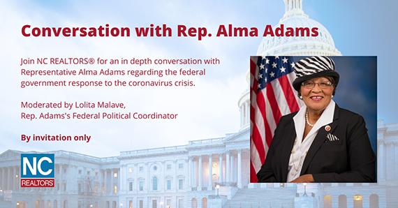 Conversation with Rep Alma Adams
