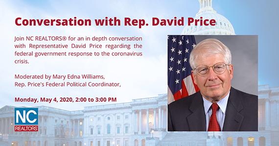 Conversation with Rep David Price image