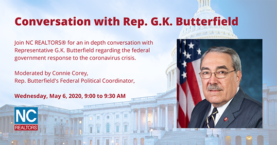 Conversation with Rep GK Butterfield image