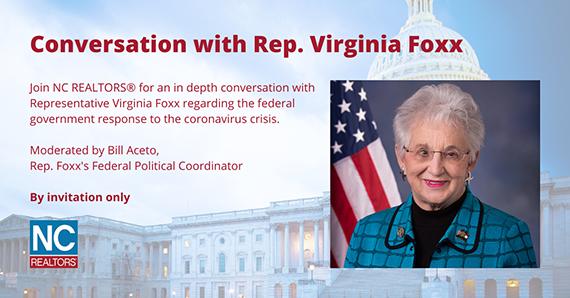 Conversation with Rep Virginia Foxx