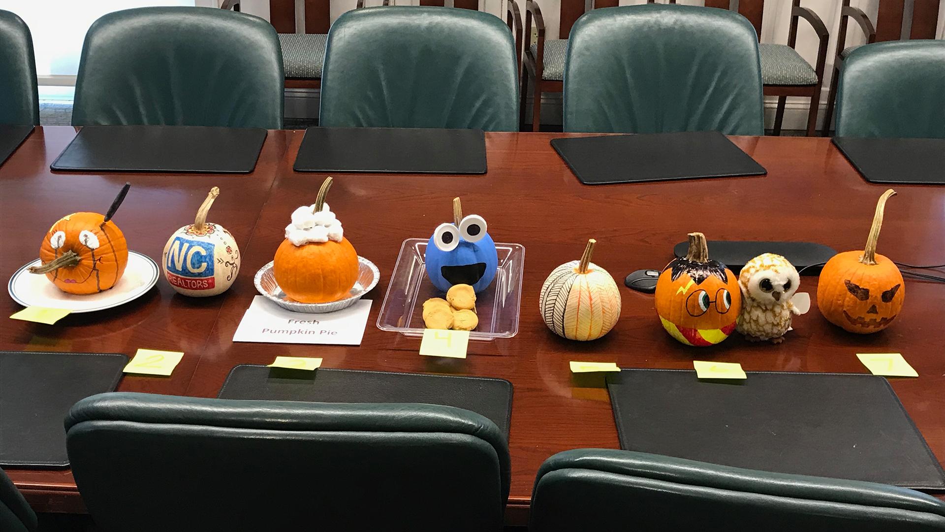 2018 Halloween Pumpkins