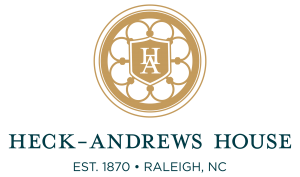 Heck-Andrews House Stacked Logo Gold-Green