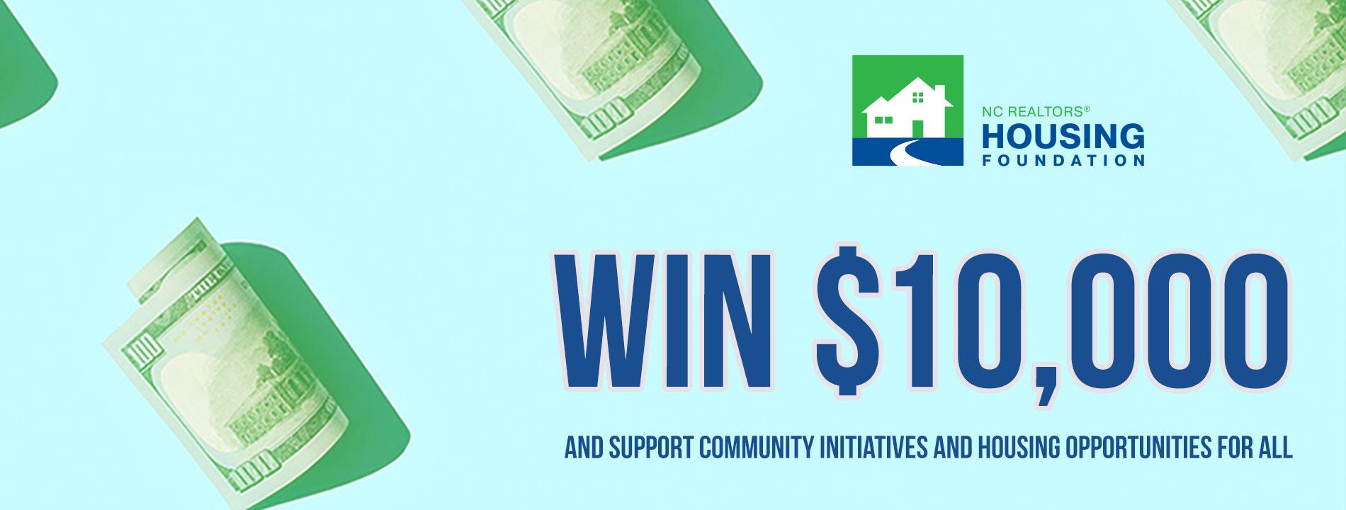 Housing Foundation Raffle Website Slider