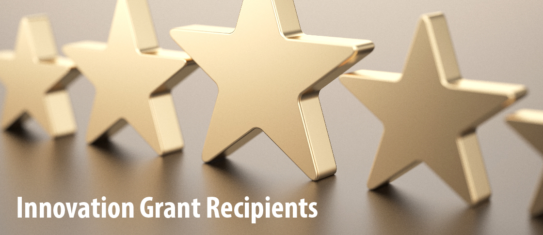 Innovation Grant Recipients Resources Header