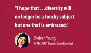August 2019 Insight: Diversity Shaleen Quote