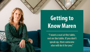February 2020 Insight: Maren Quote
