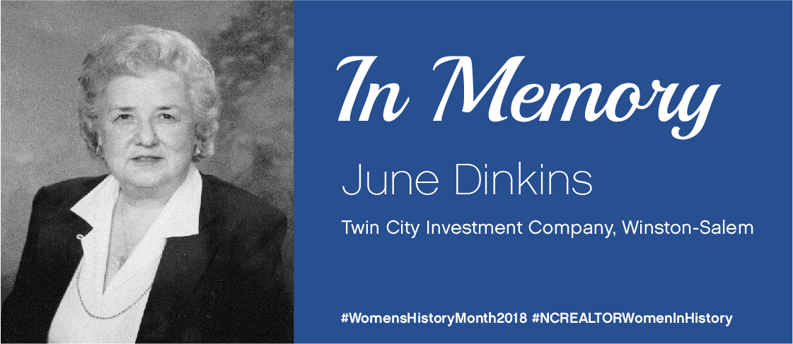 National Women's History Month Spotlight: June Dinkins