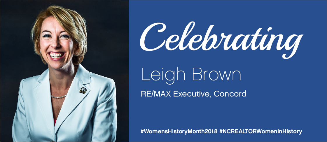 image for National Women's History Month Spotlight: Leigh Brown
