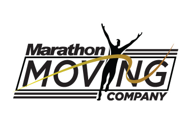 Marathon Moving Company Logo
