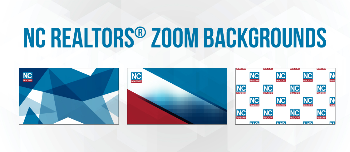NC REALTORS® Zoom Backgrounds Resources Header