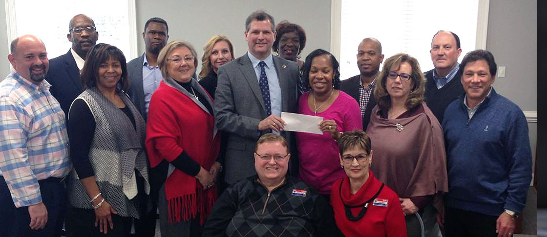 NC REEF donates $15,000 to Homes4NC for a new Work Smarter program