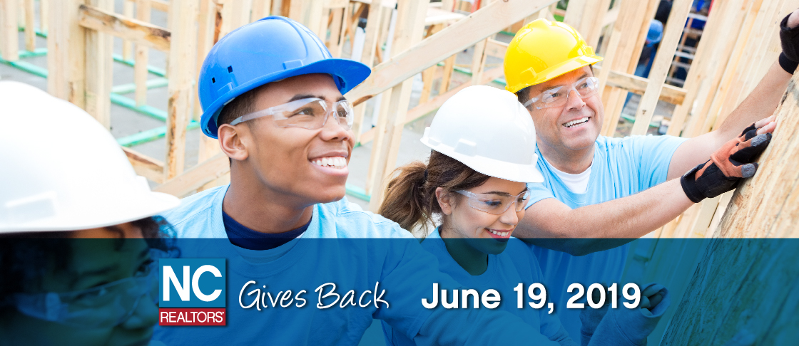 NC REALTORS® Gives Back