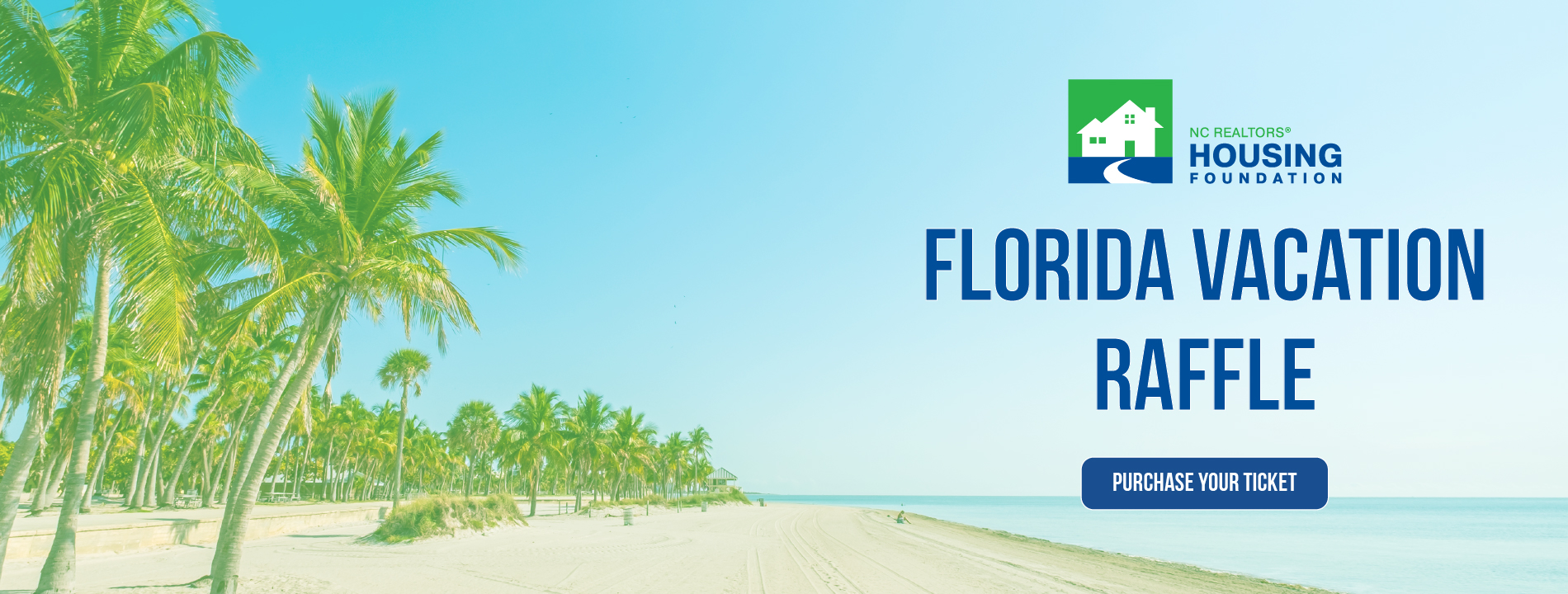 NCRHF Florida Vacation Raffle Website Slider