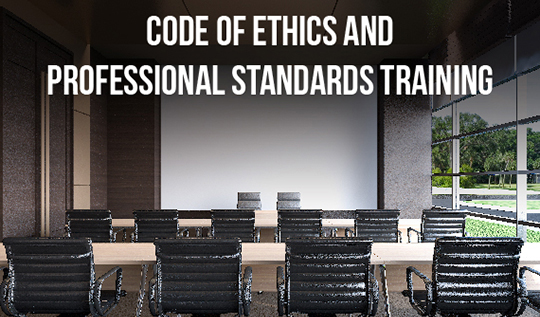 Image for Professional Standards Training