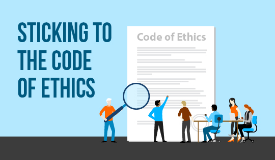 Sticking to the Code of Ethics Feature Image