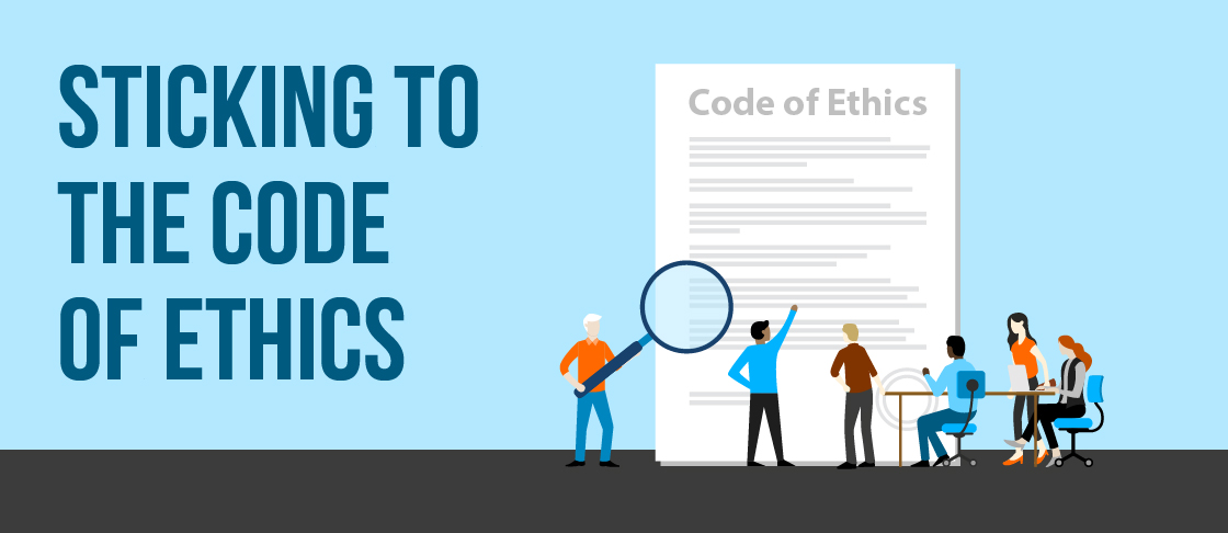Sticking to the Code of Ethics Resources Header