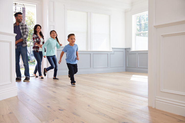 Family Viewing Potential New Home