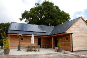 Barn Conversion with Solar Panels