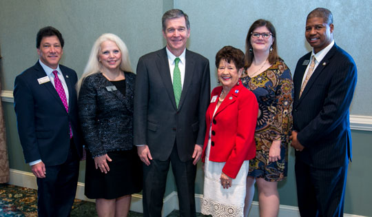 2018 Leadership Team with Governor Roy Cooper